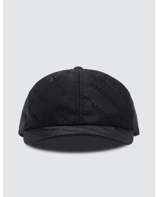 7fc973f8ae5 Alexander Wang - Black Logo Jacquard Dad Cap for Men - Lyst ...