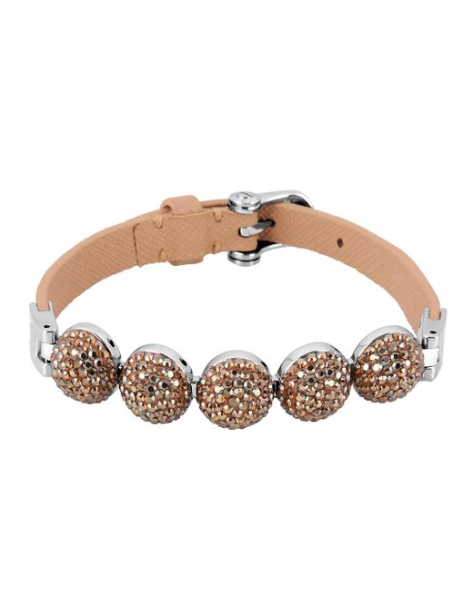 Henri Bendel | Brown Bendel Rocks Flex Bracelet | Lyst