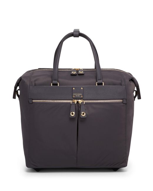 Henri Bendel | Black Jetsetter Carry-on Wheelie | Lyst