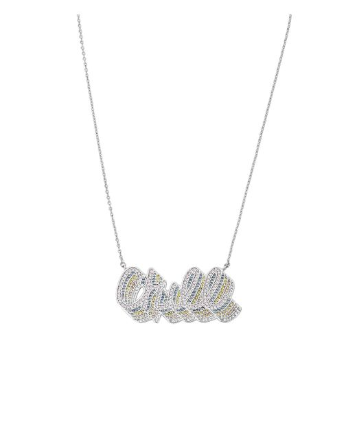 Henri Bendel - Metallic Chill Pendant Necklace - Lyst