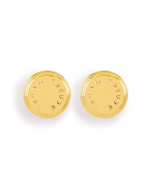 Henri Bendel | Metallic Carlyle Stud Earring | Lyst