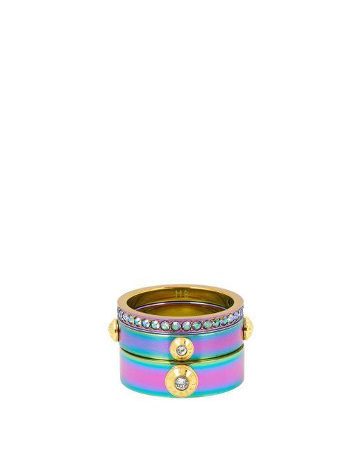Henri Bendel - Multicolor Miss Bendel Stack Ring - Lyst