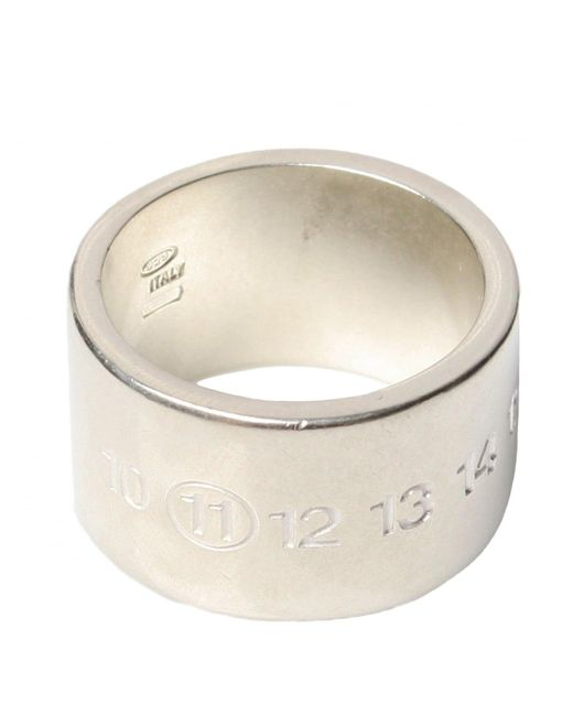 Maison Margiela | Metallic Square Ring for Men | Lyst