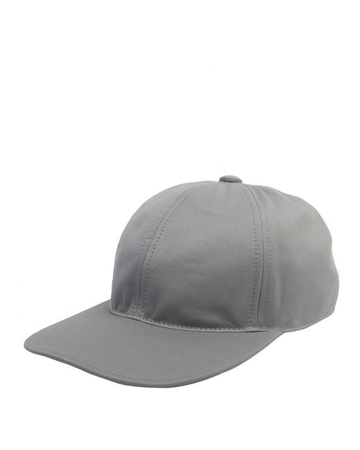 8a56be86123 Thom Browne - Gray Six Panel Baseball Cap Grey for Men - Lyst ...