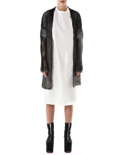 Avant Toi - Multicolor Loose-knit Cardigan - Lyst