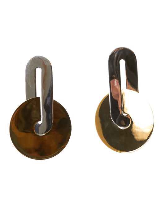 Uncommon Matters - Metallic Disced Earrings - Lyst