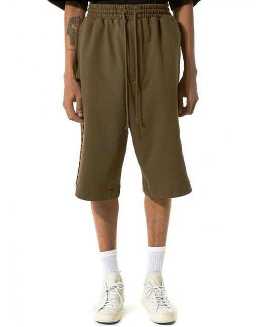 Juun.J | Green Embroidered Shorts for Men | Lyst