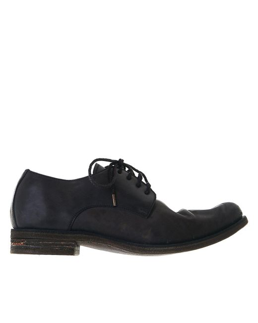A Diciannoveventitre | Black Laced Derby Shoes for Men | Lyst