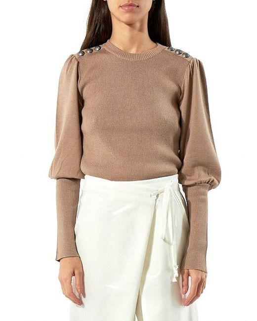 Christian Dada | Multicolor Uniform Knit Sweater | Lyst