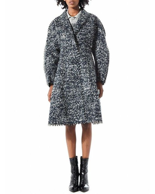 ANREALAGE   Gray Camouflage Serrated Edge Coat   Lyst