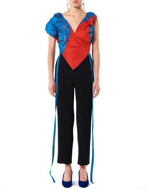 Vivienne Westwood | Multicolor Ruche Contrast Top | Lyst