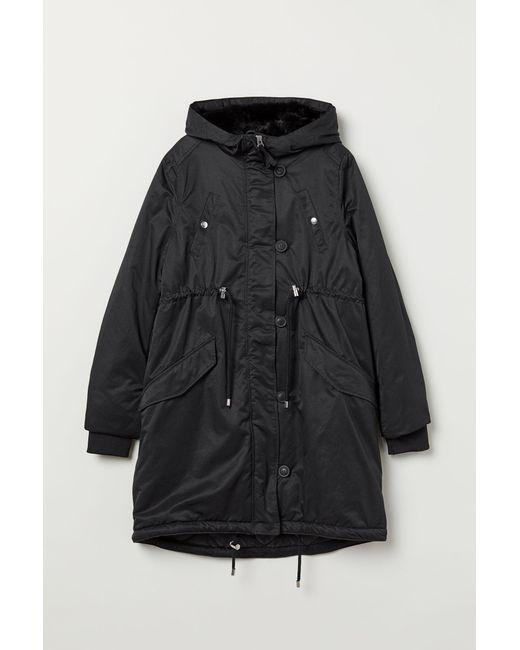 H&M - Black Mama Padded Jacket - Lyst