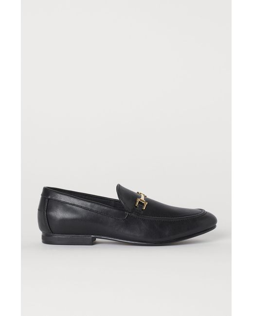 H&M Loafer in Black für Herren
