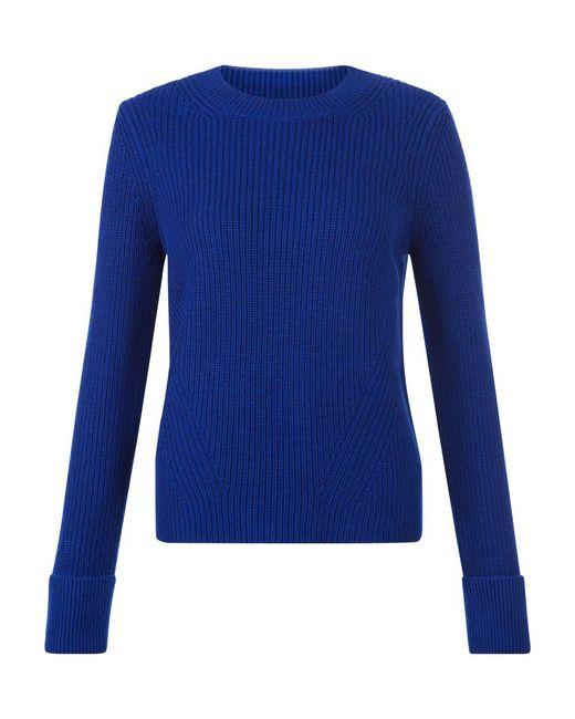 Hobbs   Blue Charlie Sweater   Lyst