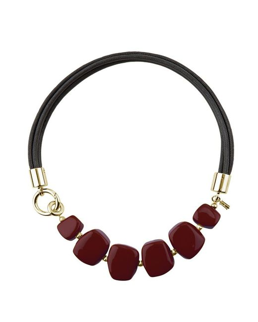 Hobbs | Red Naomi Necklace | Lyst