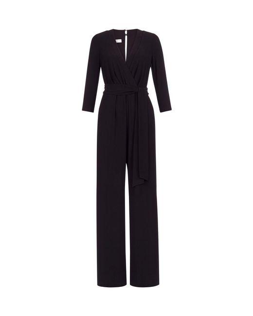 Hobbs - Black Sleeved Jordanna Jumpsuit - Lyst