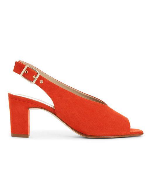 Hobbs - Red Kali Sandal - Lyst