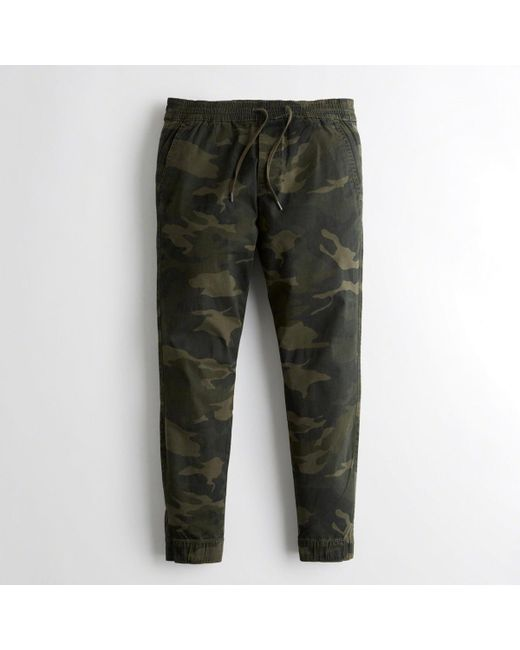 Hollister - Multicolor Guys Advanced Stretch Twill Skinny Jogger Pants From Hollister for Men - Lyst