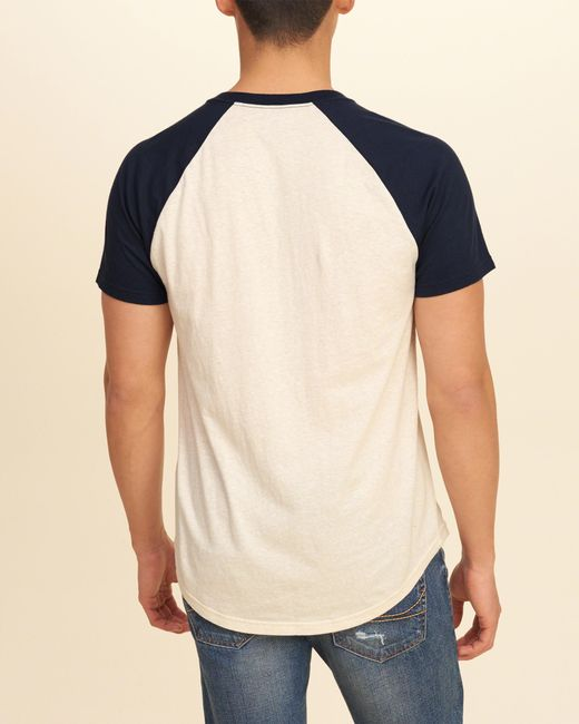 Hollister must have colorblock raglan t shirt in for Must have dress shirts