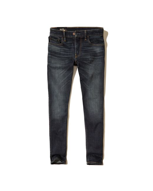 Hollister Extreme Skinny Jeans in Blue for Men   Lyst