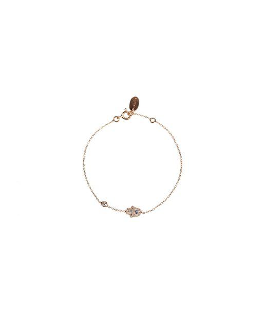Latelita London - Metallic Hamsa Bracelet Rosegold - Lyst