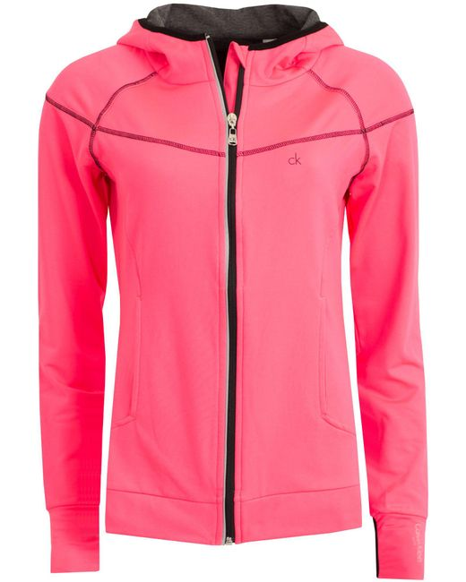 Calvin Klein | Pink Performance Tech Jacket | Lyst