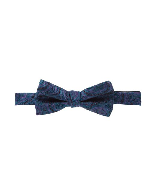 Ted Baker - Blue Warnbow Paisley Bow Tie for Men - Lyst