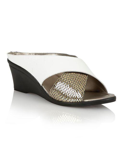 Lotus | White Trino Casual Sandals | Lyst