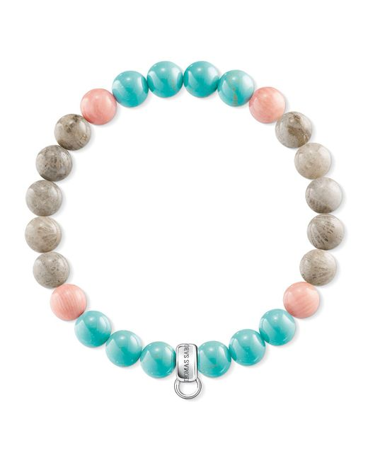 Thomas Sabo | Blue Charm Club Multi-colour Charm Bracelet | Lyst