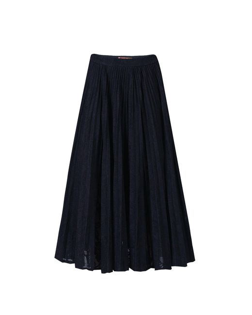 Jolie Moi | Black Lace Bonded Pleated Midi Skirt | Lyst