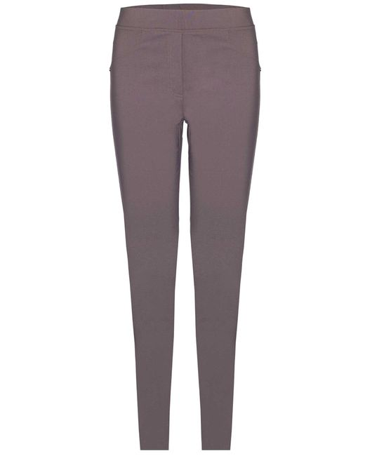 James Lakeland - Gray Plain Stretch Trousers - Lyst