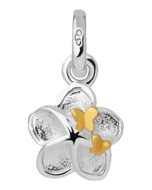 Links of London - Metallic Mini Flower And Butterfly Charm - Lyst