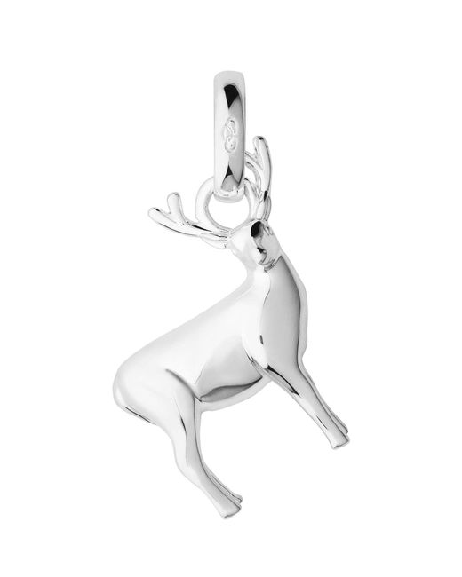 Links of London - Metallic Sterling Silver Stag Woodland Charm - Lyst