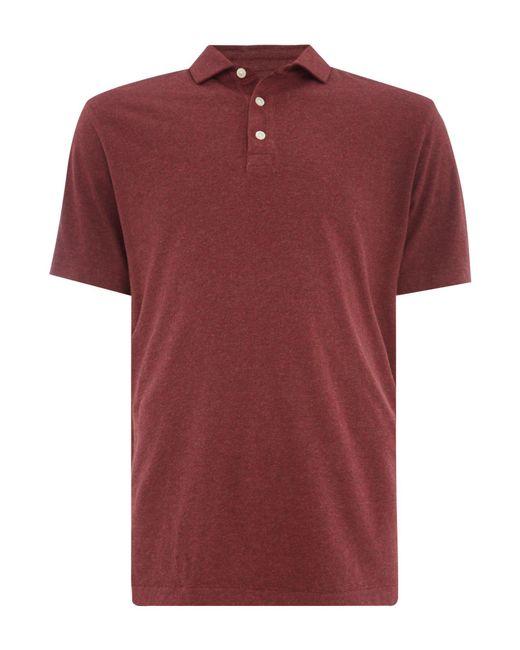 Howick - Red Men's Otis Athletic Short Sleeve Jersey Polo for Men - Lyst