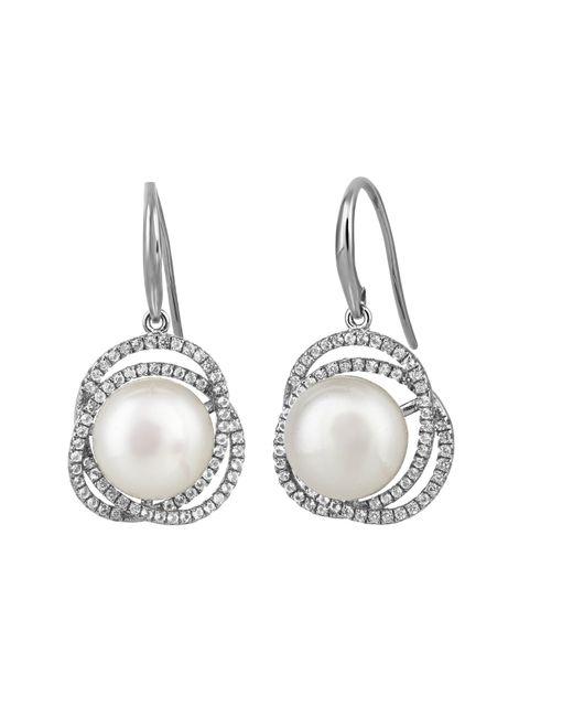 Jersey Pearl - Metallic Freshwater Pearl Earrings - Lyst