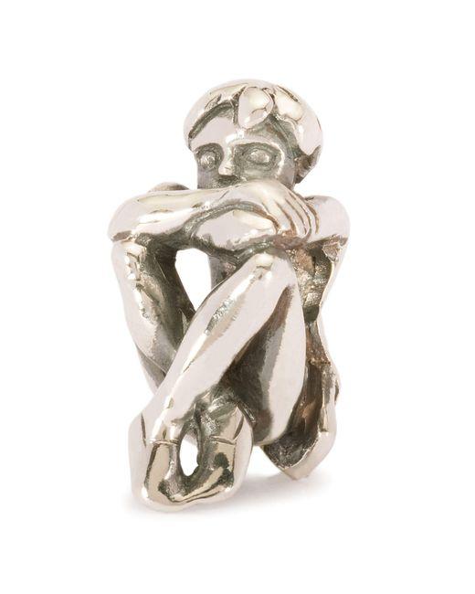 Trollbeads | Metallic Spirit Of Freedom Silver Charm Bead | Lyst