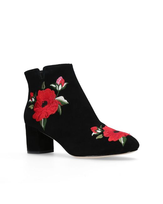 Kate Spade | Black Langton Ankle Boots | Lyst