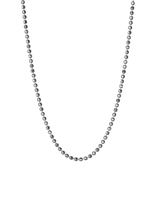 Links of London | Metallic Facetted Ball Chain 85cm | Lyst