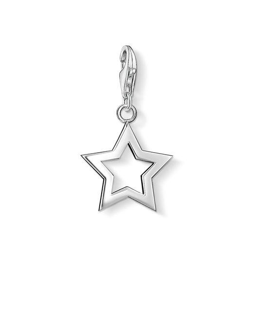 Thomas Sabo | Metallic Charm Club Star Pendant | Lyst