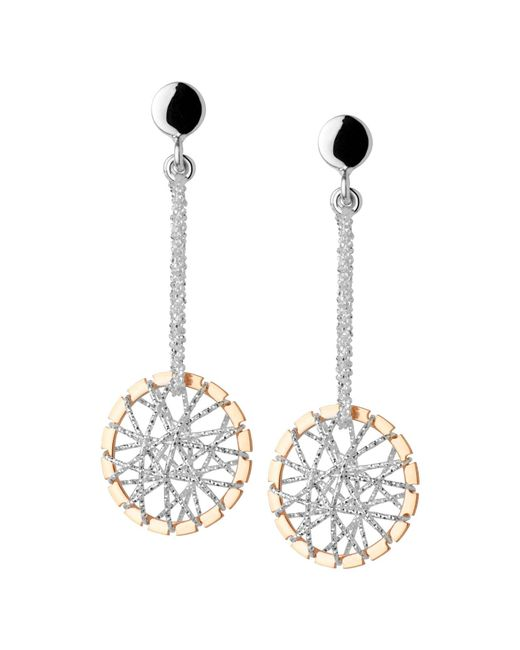 Links of London | Pink Dream Catcher Stiletto Rose Gold Earrings | Lyst