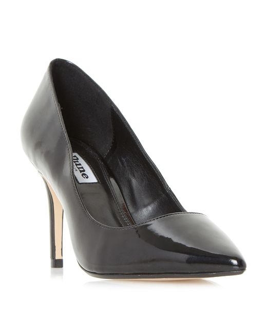 Dune - Black Aurrora Mid Heel Court Shoes - Lyst