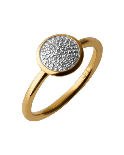 Links of London | Metallic Diamond Essentials Pave Ring - Ring Size P | Lyst
