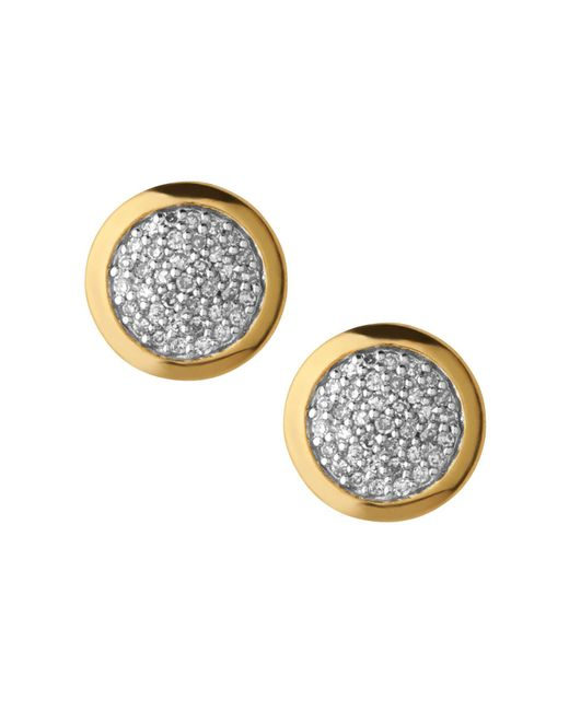 Links of London | Metallic Diamond Essentials Stud Earrings | Lyst