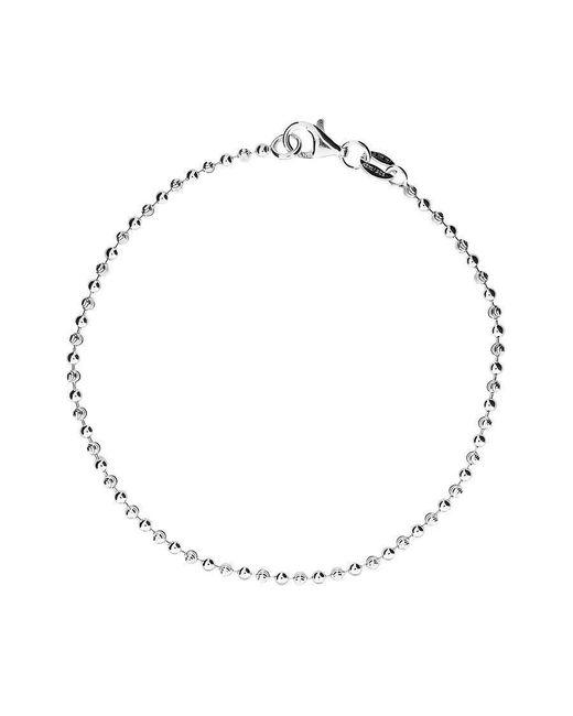Azendi | Metallic Silver Beaded Bracelet | Lyst