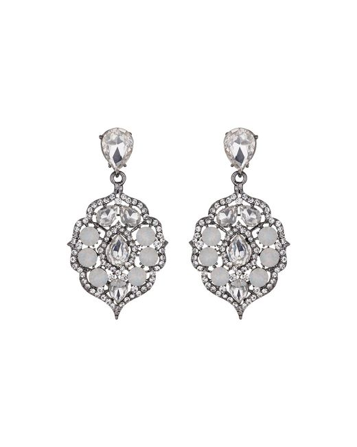 Mikey | Multicolor Fillagary Hanging Crystal Earring | Lyst