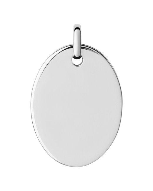 Links of London   Metallic Narrative Large Oval Disc Pendant   Lyst