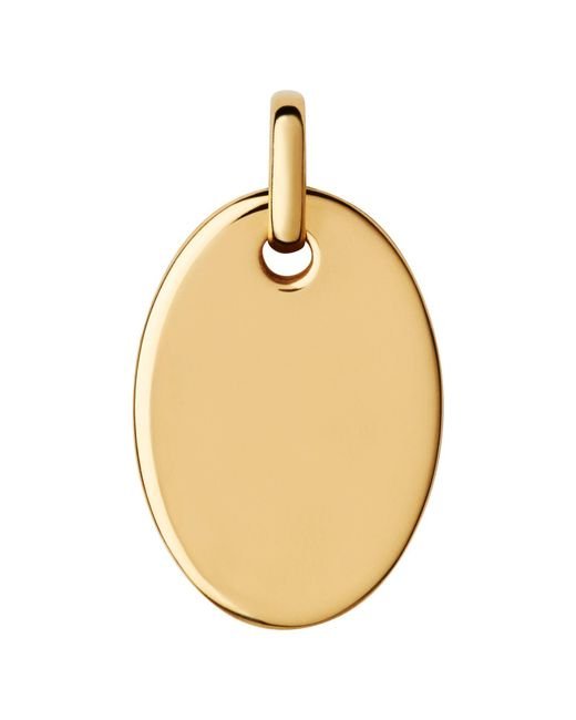Links of London | Metallic Narrative Yellow Gold Vermeil Pendant | Lyst