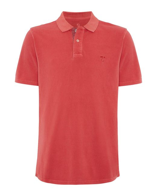 Howick | Multicolor Savannah Pique Garment Washed Short Sleeve Polo for Men | Lyst