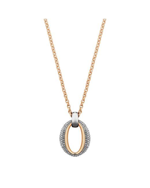 Swarovski | Metallic Circlet Pendant | Lyst