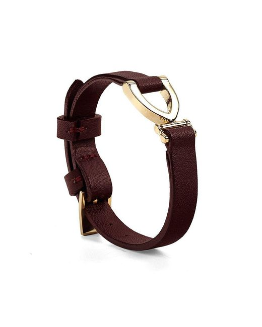 Aspinal | Brown Mayfair Bracelet | Lyst